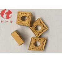 Buy CNMG120408-PMK CNC Turning Inserts Universal Chipbreakers Cuting Steel / Cast Iron at wholesale prices