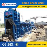 China High efficiency Scrap Car Balers Logger to cut and press waste Square Steel sale to european on sale