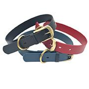 Quality Waterproof Strong TPU Leather Dog Collar for sale