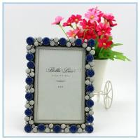 Quality Shinny Gifts Metal materials fashion photo frame for wedding gifts for sale
