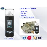Quality 400ML Carburetor Cleaner Spray / Aerosol Carb and Choke Cleaner Car Cleaning Product for sale