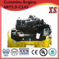 Quality Cummins construction diesel engine 6BT5.9-C145 for sale