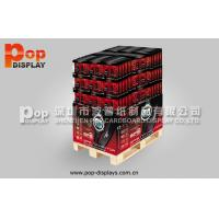 Quality Watch Durable Corrugated Cardboard Pallet Display , Floor Shipper Display Box for sale
