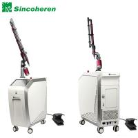 China Nd YAG Laser Pigmentation Removal Machine 1064/532 nm With Moving Head on sale