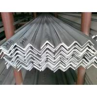 Quality V Shaped 304 Polished Stainless Steel SS Angle Bar Structural Angle Bar Iron for sale
