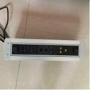 Buy cheap Desktop Socket Flip Up Power Outlet / Electrical Plug Socket For Conference Room from wholesalers