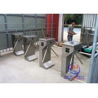Buy Nfc Cards Theme Park Tripod Turnstile Gate Passenger Reader For Counter Entrance at wholesale prices