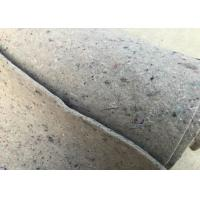 Quality Stable Fiber Grey Felt Fabric High Thermostability Customized Length Width for sale