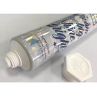 Quality D35*159mm HAL Material  Tube Packaging For Hand Cream with Laser Effect for sale
