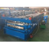 Buy cheap YX-686 762 Double Layer Deck Profile Roof Roll Forming Machine Popular In Africa from wholesalers
