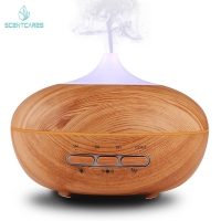 Quality 300ML Essential Oil Diffuser cool mist humidifier wood grain for sale
