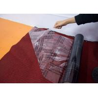 China Auto Carpet Adhesive Protective Film , Transparent Carpet Protection Roll on sale