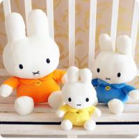 Quality Stuffed toys Miffy white rabbit plush toy factory specializing in the production of animat for sale