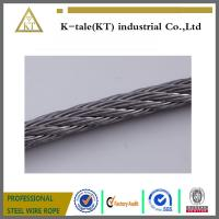 Quality SUS304 316 6*19+fc stainless steel cable for tow made in china with cheap price for sale