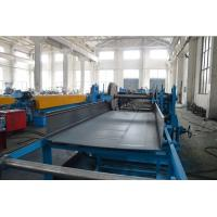 Quality Speed Up To 30 meters Per Minute Cable Tray Roll Forming Machine With Servo Device for sale