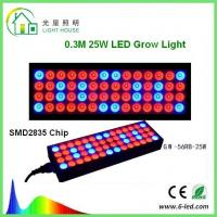 Buy cheap Reflector 25w Led Weed Growing Lights, Square Red Led Plant Grow Lights from Wholesalers