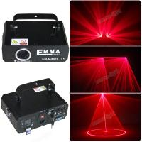 China 1w 1000mW red gobos Laser Projector,Cartoon DMX, DJ Party Stage Multi effect lighting on sale