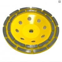 Buy cheap High Gloss Diamond Maysonry Grinding Cup Wheels with Double Row segments from wholesalers