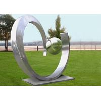 Quality Yard Decoration Modern Stainless Steel Sculpture Art Heart Shape Forging Technique for sale