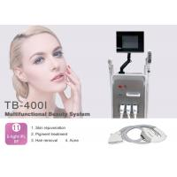 Quality Multifunctional 4 In 1 Hair Removal SHR Elight RF Nd Yag Laser for Tattoo Removal Wrinkle Removal for sale