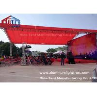 Quality Arch Style Portable Truss System / Outdoor Event Lightweight Truss System for sale
