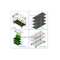 Quality Joint System Steel Pipe Rack CAD Drawing Model Industrial Shelving Units for sale
