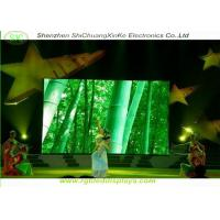 Buy cheap 5mm pitch indoor full color smd large stage led display,with 1/16 scanning from Wholesalers