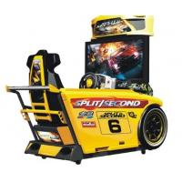 Quality Speed Car Racing Arcade Machine Metal Material High Resolution With 42  LCD Screen for sale