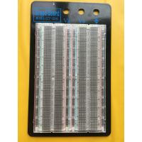 Quality Testing Transparent Breadboard Prototype 1660 Point Solderless Bread Board for sale