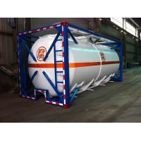 Quality Liquid Tank Container 48000L ISO International Shipping 40ft for sale