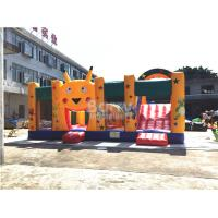 Quality Fire - resistant Big Inflatable Bounce House With Slide Combo SCT EN71 for sale