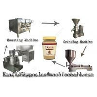 Quality Sesame Butter Grinding Production Line|Tahini Making Processing Line for sale
