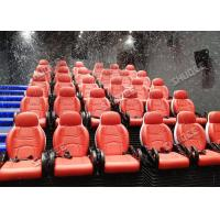 Quality Interactive 7D Movie Theater / 5D Motion Cinema Motion Seat Theater Simulator Amazing for sale