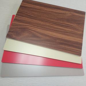 Quality 4mm ACP 3D Wood Grain Aluminum Composite Panel PE Coated Fluorocarbon Coatings for sale