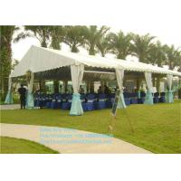 Quality Waterproof PVC Materials Garden Party Tents 100 People Party Marquee Tent Outdoor for sale