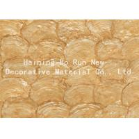 Quality Customised Size Soft PET Decorative Door Film Natural Style Moisture Proof for sale