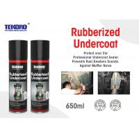 Quality Rubberized Undercoat , Car Care Spray For Resisting Chipping / Abrasion / Corrosion for sale