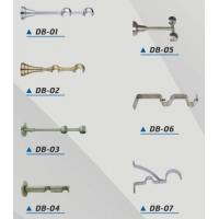China Double curtain rod brackets on sale