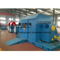 Quality Cantilever Core Wire / Cable Twisting Machine , Sky Blue Cable Laying Machinery for sale