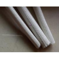 Quality 0.5mm - 2.0mm Range Silicone Rubber Fiberglass Sleeving for Electrical Machinery for sale