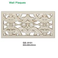 Buy cheap Classical Royalty wall decoration PU plaque from wholesalers