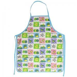 China 45*60 cm Cute Carton Printed 100% Cotton Bib Aprons Child Kitchen Aprons on sale