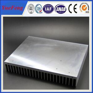 Industrial aluminum radiator profile /anodized aluminum