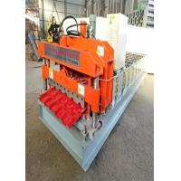 Buy cheap 800mm Effective Width Bamboo Profile Tile Roof Roll Forming Machine With Shaft from wholesalers