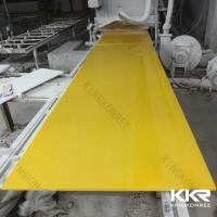 China Acrylic Solid Surface Sheet Artificial Stone Big Slab on sale