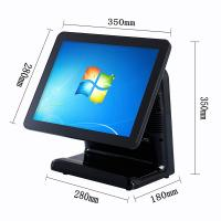 Buy cheap Free Bezel Capacitive Touch Screen Pos System Windows 10 Vtop Black Point Of from wholesalers