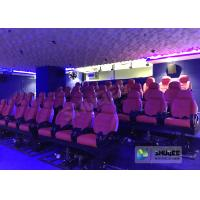 Quality Cabin Cinema Motion Flight Simulator Movie Theatre With Different Movie Posters for sale