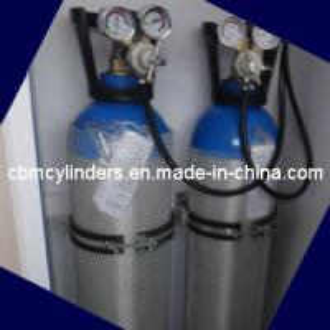 China Ambulance Equipped Breathing Oxygen Supply Unit Emergency Rescue Oxygen Cylinder Sets on sale