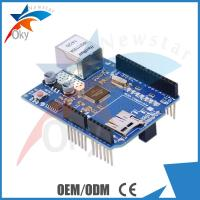 Quality Board for Arduino Ethernet W5100 shield Micro SD card slot TCP and UDP 30g for sale