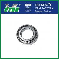 Quality Precision Single Row Taper Roller Bearing For Automobile / Electrical / Equipment for sale